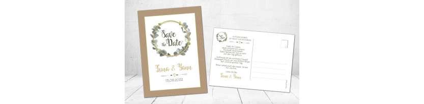 Save the Date Karten Vintage