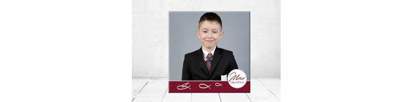 Geschenk Konfirmation Patenkind Kommunion Junge kreativ personalisiert individualisiert
