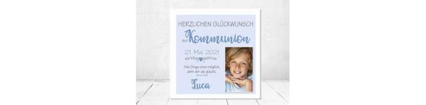 Geschenk Konfirmation Patenkind Kommunion Junge Mädchen kreativ personalisiert individualisiert