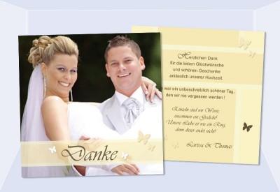 Fotokarten Einladung war perfekt einladungen design