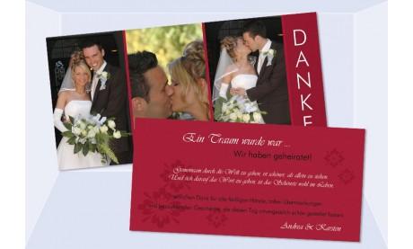 Danksagungskarte Karte Hochzeit