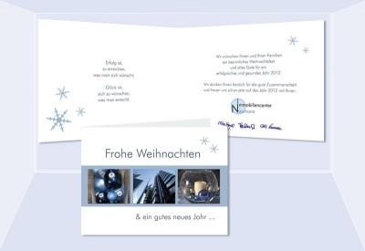 Geschäftliche Weihnachtskarten Text.Weihnachtskarten Geschäftlich Firmen Karte Weihnachten Logo