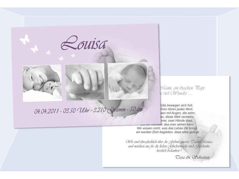 Lieblings Danksagungskarte Geburt Baby #VA_64