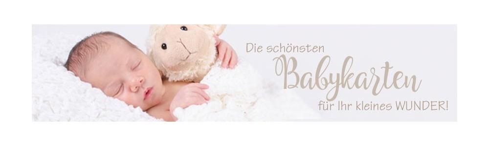 Dankeskarten Geburt Danksagungskarten - inkl. gratis Gestaltung