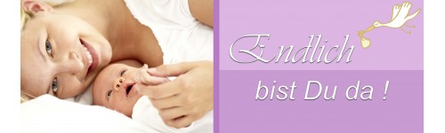 Geburtskarten Baby