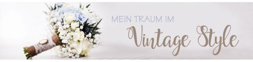 Einladungskarten Hochzeit Vintage - gratis Gestaltungsservice
