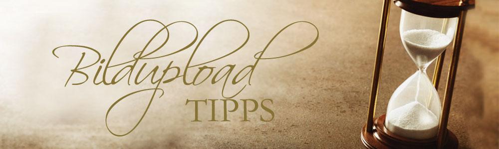Tipps zum Bildupload