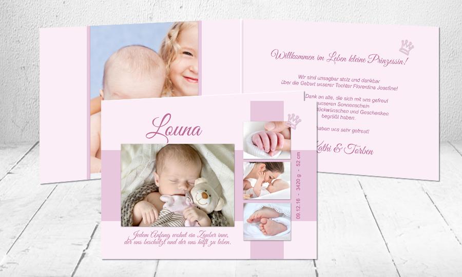 Geburtssprüche Dankestexte Baby Sag Es Mit Karten