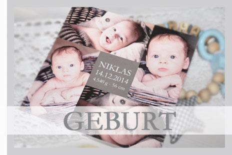 Wunderschöne Dankeskarten zur Geburt Ihres Babys