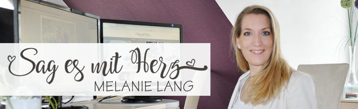 Einladungskarten und Dankeskarten gestalten und drucken durch Melanie Lang, Sag es mit Herz.de