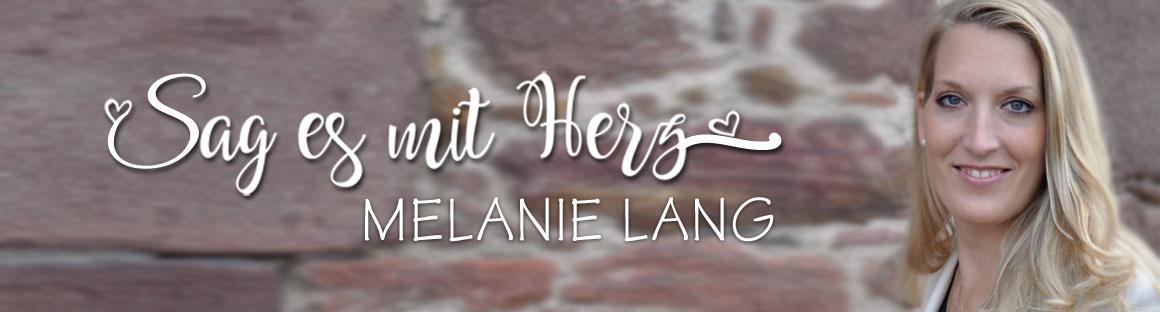 Individuelle Gestaltung Ihrer Einladungskarten durch Designerin Melanie Lang, Sag es mit Herz.de persönlich
