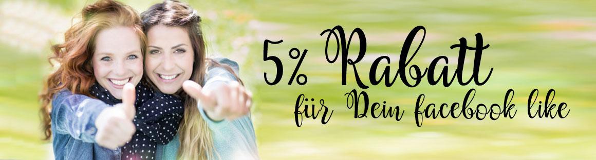 5 % Rabatt auf alle Einladungskarten für DEIN LIKE
