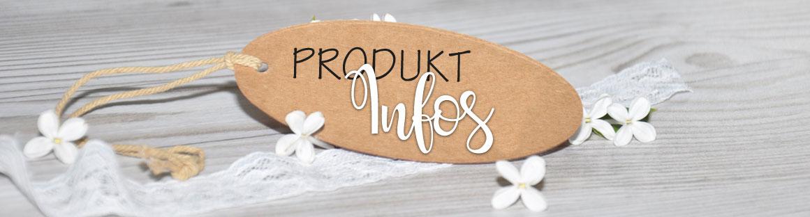 Produktinformation und Papierveredlungen für Ihre  Einladungen und Dankeskarten