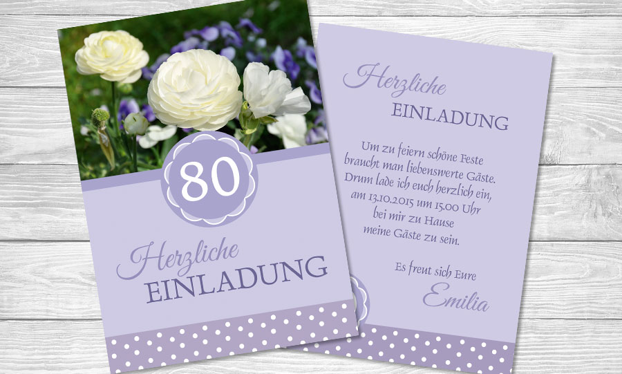 Einladungstexte Geburtstagseinladungen