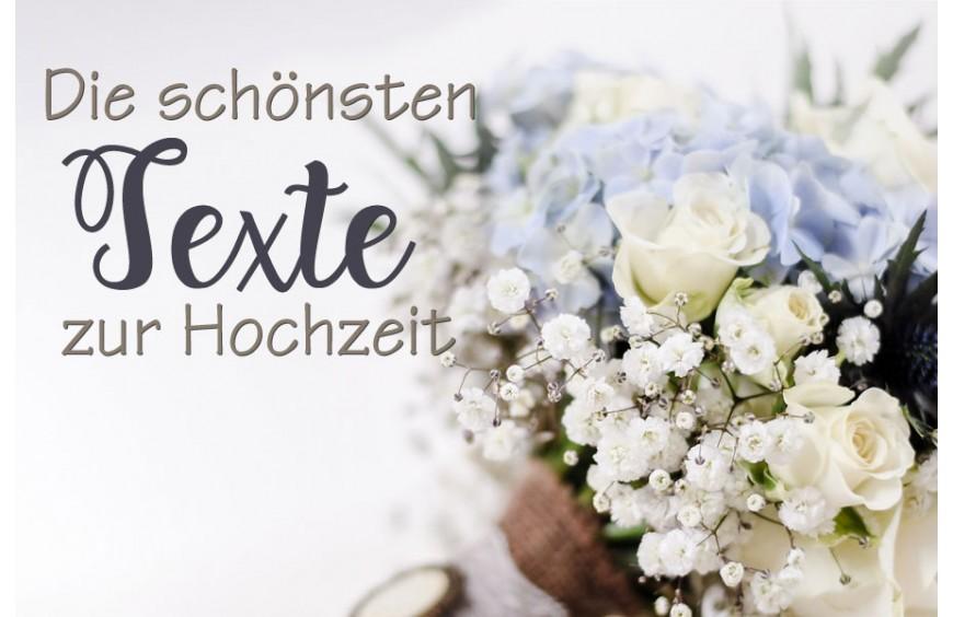 Die Schönsten Texte Zur Hochzeit