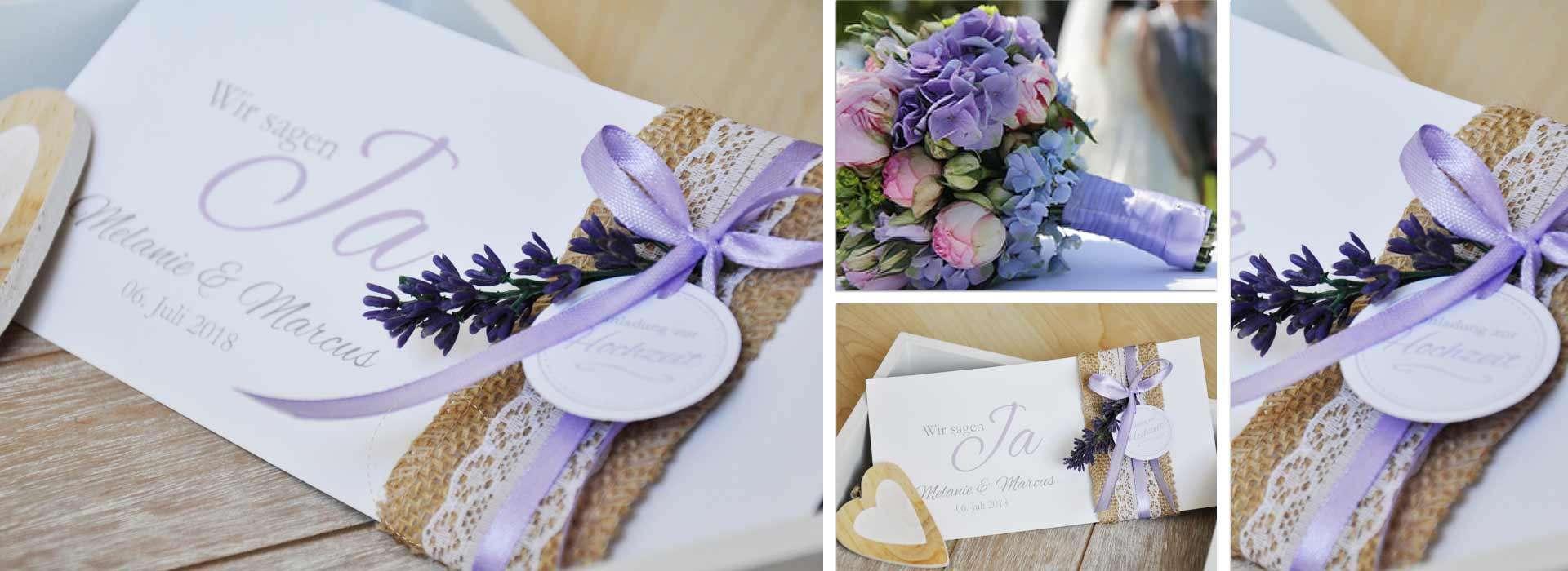 Die schönsten Einladungen zur Hochzeit im Vintage Style