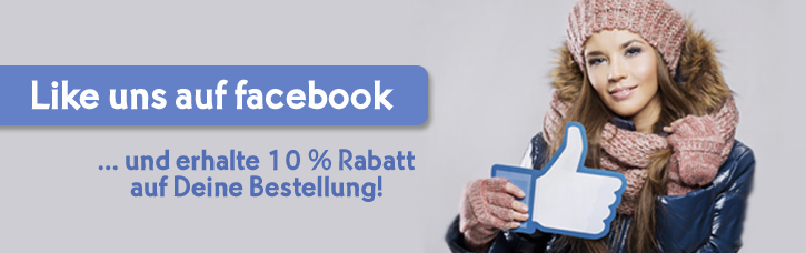 10 % Rabatt durch Facebook Like